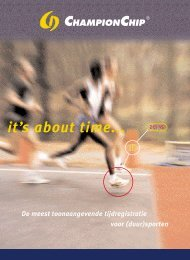 PDF TimingKit Folder - MYLAPS Nederland