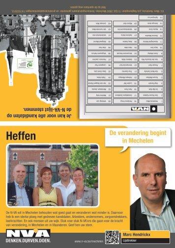 Heffen - N-VA Mechelen
