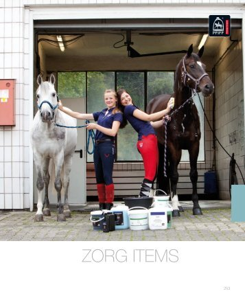 ZORG ITEMS - Paard & bedrijf