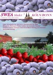 SWEA bladet KÖLN/BONN