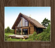 Invitation to the Vocational Competition for Handcrafted Log Home ...