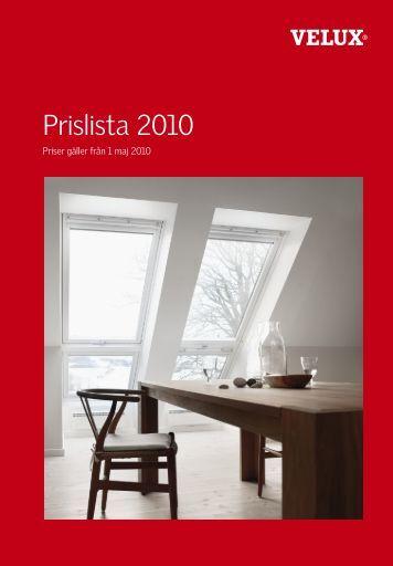 Prislista 2010 - Bygglagret