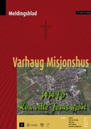 PDF versjon av bladet - Varhaug Misjonshus