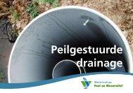 Folder peilgestuurde drainage - Deltaproof