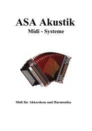 Akkordeon mit Controller - Asa Akustik