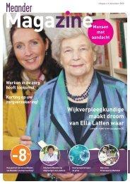 Meander Magazine, december 2012 - MeanderGroep