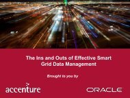 The Ins and Outs of Effective Smart Grid Data ... - Energy Central