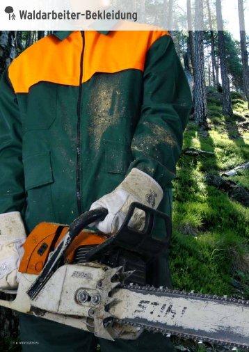 Waldarbeiter-Bekleidung