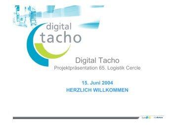 Digital Tacho