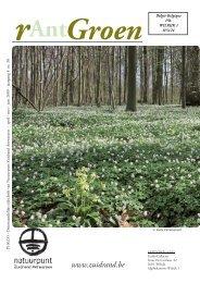 rAntGroen 30 : april - Natuurpunt Zuidrand Antwerpen
