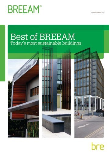 Best of BREEAM - Medical Architecture