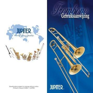 Onderhoudsboekje schuif- en ventieltrombone JUPITER - March ...