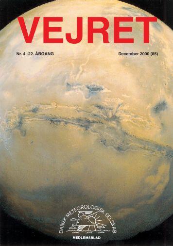 Nr. 4 -22. ÅRGANG December 2000 (85)