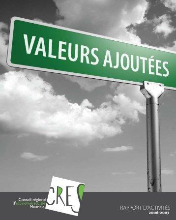 RAPPORT D'ACTIVITÉS - Économie sociale Québec