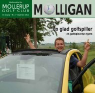 MOLLIGAN, september 2011 - Mollerup Golf Club