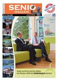 0241-9907869, Bürozeiten: Mo., Mi. und Fr. 10.00 - Senio Magazin