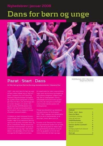 Dans for børn og unge - Dansens Hus
