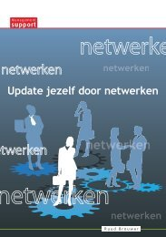 Update jezelf door netwerken - Management Support