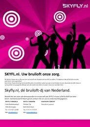 SKYFLY.nl Bruiloft checklist