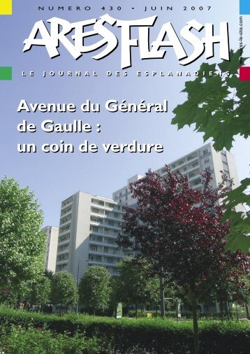 Avenue du Général de Gaulle - Ares