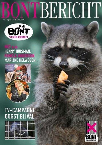 TV-CAMPAGNE OOGST BIJVAL - Bont voor Dieren