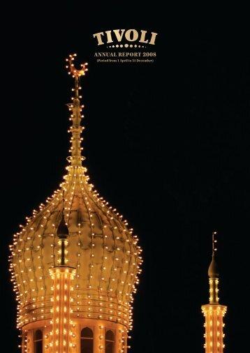 ANNUAL rEport 2008 - Tivoli