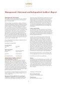 ANNUAL rEport 2008 - Tivoli - Page 6