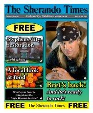 Volume II, Issue 15 - The Sherando Times