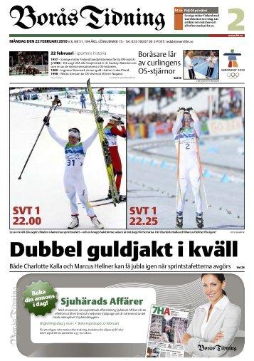 här - Dubbel guldjakt i kväll - Borås Tidning