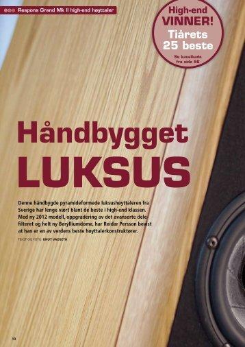 High-end VINNER! - Mats Audio