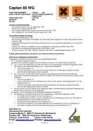 Captan 80 WG (vervolg) - Horticoop
