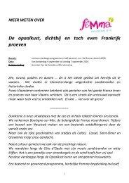 Programma - Femma