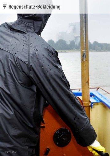 Regenschutz-Bekleidung