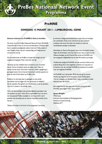 Folder Prenne 17 | 15.03.11 | Limburghal Genk - Prebes