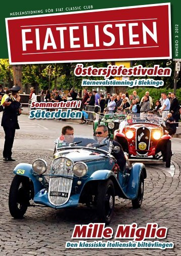 Fiatelisten nr. 3-12 - Fiat Classic Club