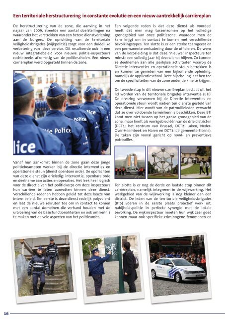 Activiteitenverslag - Lokale Politie