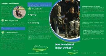 Met de rolstoel in het verkeer Met de rolstoel in het verkeer - Mobiel 21