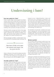 Undervisning i bøn? af Gerhard Pedersen - Kirken Underviser