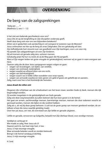 Ons Kerkblad 5 juli 2013 - Hervormd Rijssen
