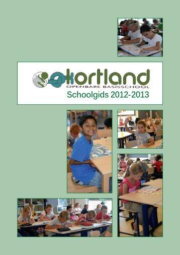 U kunt hier de schoolgids downloaden - OBS Kortland