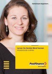Lernen Sie Daniela Morel kennen - Mitarbeitende erzählen