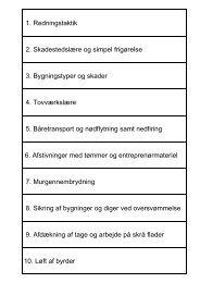 1. Redningstaktik 2. Skadestedslære og simpel frigørelse 3 ...