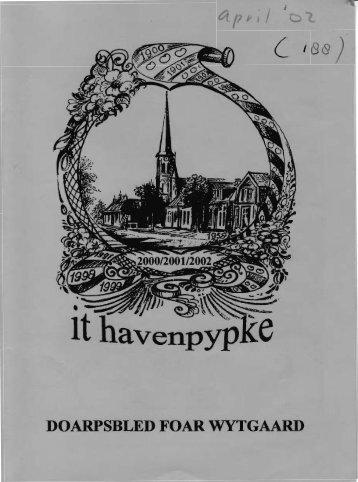 DOARPSBLED FOAR WYTGAARD - t Havenpypke