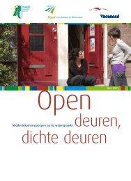 'Open deuren, dichte deuren' [pdf] - Raad voor de leefomgeving en ...