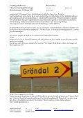 Bildtext: Vägverkets vägvisare visar vägen till socken och därför bör ... - Page 2