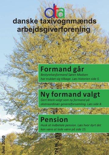 Formand går Ny formand valgt Pension - Danske Taxivognmænds ...