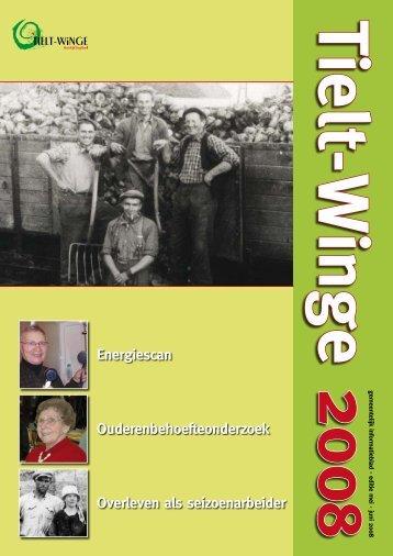 socio-economie, senioren, toerisme - gemeente Tielt-Winge