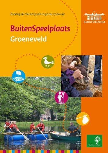 BuitenSpeelplaats - Kasteel Groeneveld