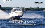 Veneitä vaativaan käyttöön. - TG-Boat