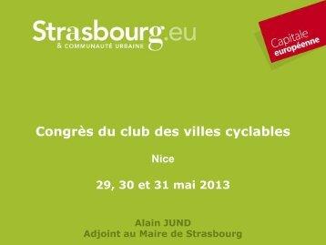 Alain JUND - Club des villes cyclables